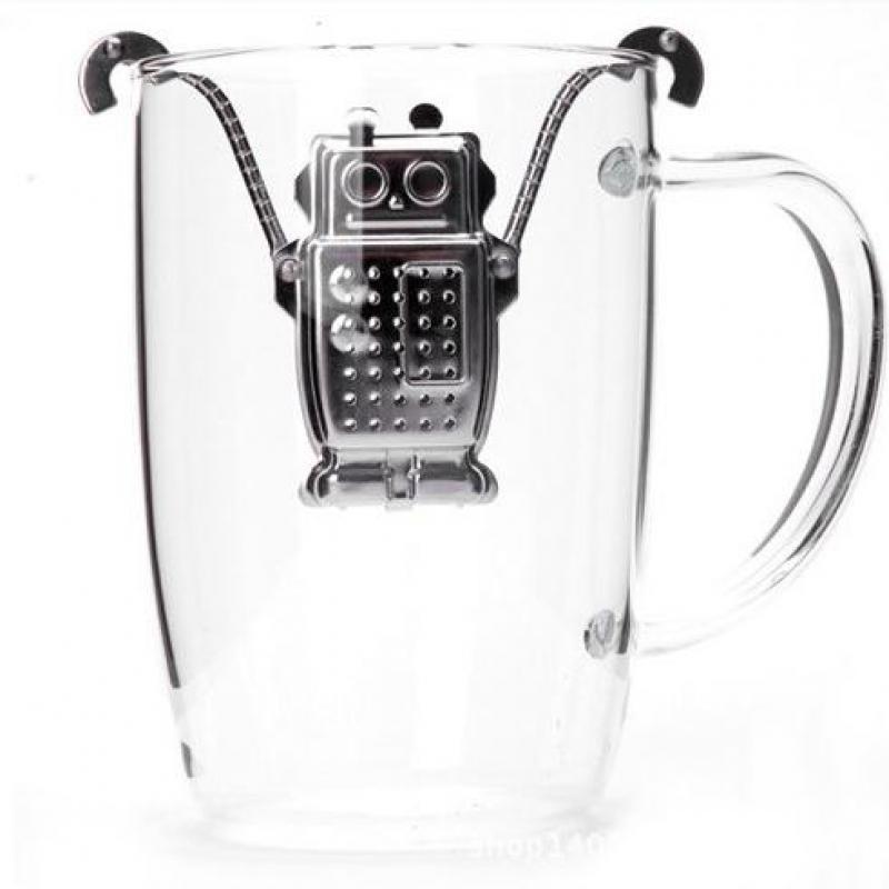 Kitstorm Stainless Steel Robot - Infusionador de Té
