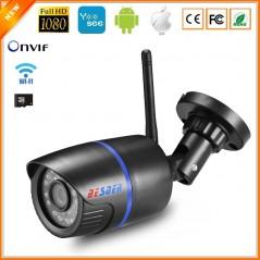 BESDER - IP Camera Wifi 1080P 960P 720P ONVIF - Exterior con MiscroSD - 64GB
