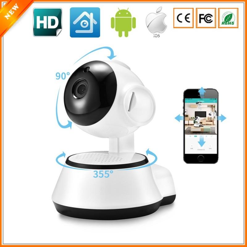BESDER - Cámara de Seguridad para el Hogar - Smart WiFi Camera WI-FI Audio - Baby Monitor -  HD Mini CCTV