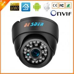 BESDER Wide Angle IP Cámara Interior - 1080P FULL HD IP - Detector de Movimiento