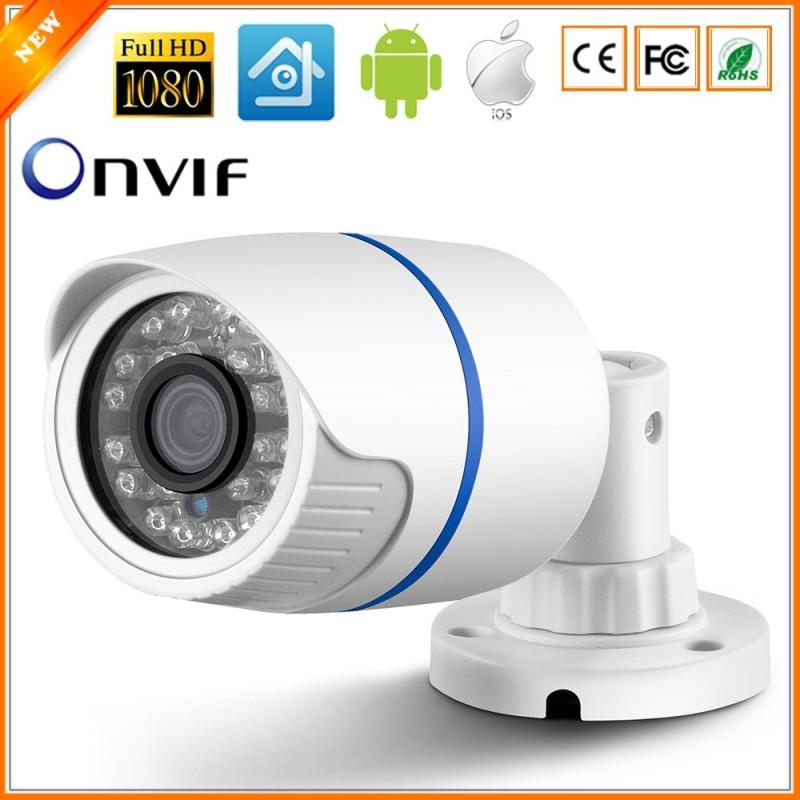 H.264 FULL HD 1080P 2.0 Megapixel - IP Cámara - Exterior de 12V 48V o PoE