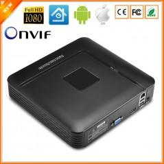 BESDER Mini NVR Full HD - 4 o 8 Canales - CCTV NVR