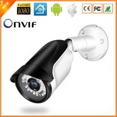 ONVIF - Cámara de Seguridad IP de 1080P 2MP - IR LED Visión nocturna - CCTV