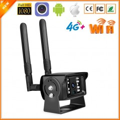 ONVIF - MINI 1080P 4G SIM Card - WIFI IP - Exterior - Contra agua - Slot de SD