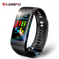 LEMFO Smart Wristbands Band Color LCD