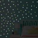 % 100 pcs/lot 3D - Luminous stars - Wall Stickers