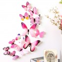 12pcs - Wall Stickers - 3D Butterfly