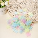 * 100 pcs. 3D - Luminous stars