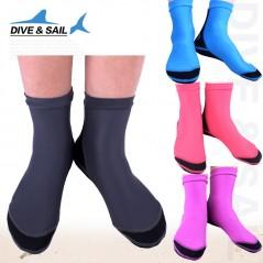 Buceo y vela neopreno de 1,5mm calcetines de buceo con pies palmeados