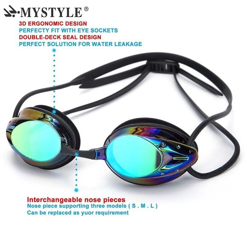 Gafas de natación para adulto - impermeable - Anti-niebla - UV