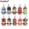 Avengers - USB Flash Drive - super heroes - Batman - Linterna verde - Spiderman - Superman - Capitán América - Flash - Ironman