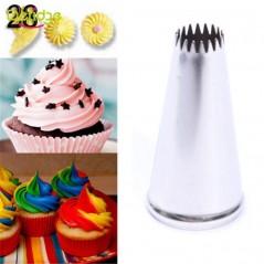Delidge - cake boquilla - 12 formas disponibles - Acero inoxidable - glaseado - pastelería - decoración
