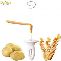 Delidge - trenzador plástico de papas + manual creativo