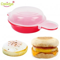 Delidge - 1 Unidade - Molde de hamburguesa para microondas
