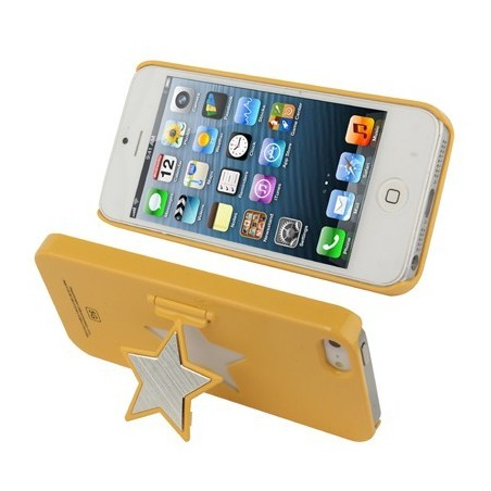 Carcasa Pure Color Star - iPhone 5 /5S