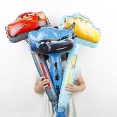 15 unids/lote - Racing car tipo martillo - globo de fiesta para cumpleaños