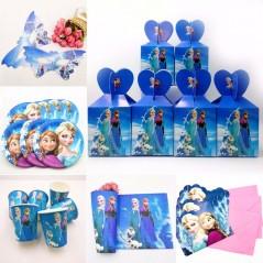 Disney Frozen Elsa y Anna - Decoracion para cumpleaños