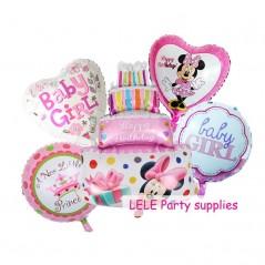 5 unids/lote - cumpleaños de bebé - Minnie Mickey