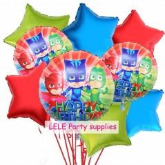9 unids/lote 18 pulgadas - Fiestas infantiles para niños