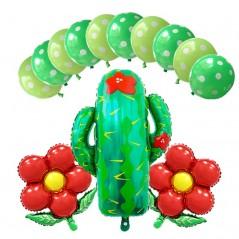 13 unids o 4 unids - Decoración de Cactus - Feliz cumpleaños