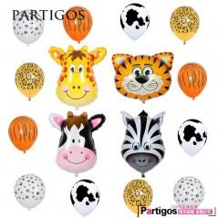 16 unids/lote - Globos de animal - Fiestas Infantiles - Baby shower