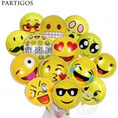 10 unids/lote- Globos de Emoji