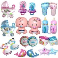 1 pieza - Globo para baby shower - Fiesta para recién Nacido