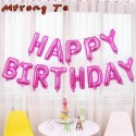 17 pulgadas - Globos - Feliz cumpleaños