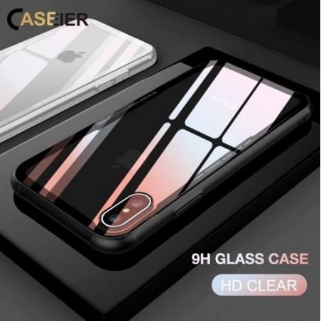 CASEIER - iPhone 8 Plus - Luxury vidrio templado - 0,55mm