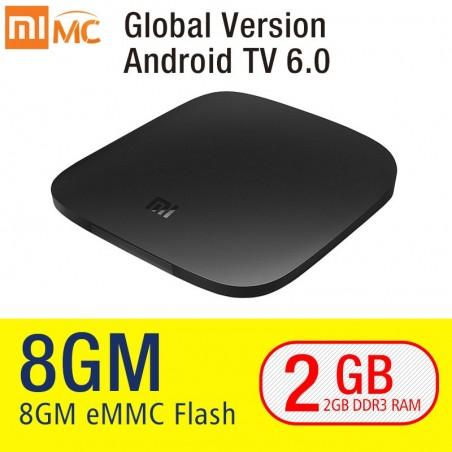 TV BOX - Xiaomi - Smart 4K Ultra HD 2G 8G Android 6.0 - WIFI - Google Cast Netflix Red Bull Media Player