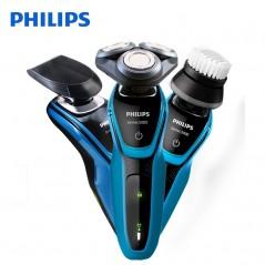 Philips Original - Afeitadora eléctrica profesional s5077 con 3D cabezas