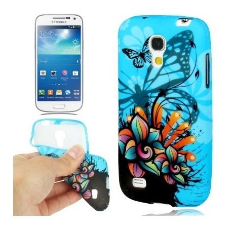 Carcasa TPU - Butterfly - Samsung S4 mini