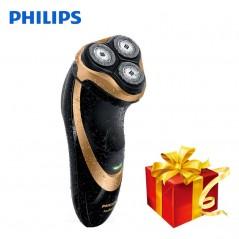 Philips Original - Afeitadora eléctrica profesional AT798 Rotary recargable - Wet & Dry