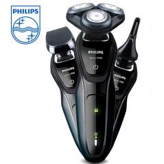 PHILIPS multifuncional Afeitadora eléctrica S5082 con pantalla LED