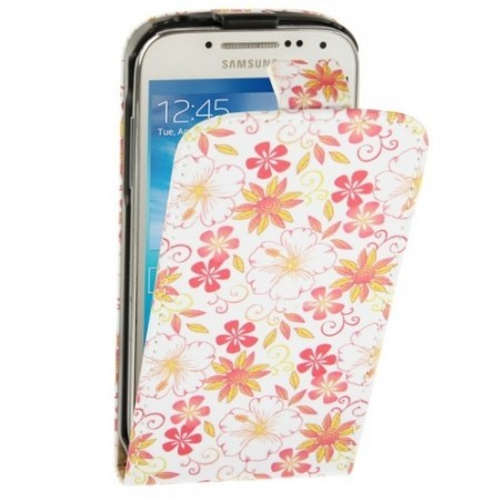 Estuche Fashion Flowers - Samsung S4 Mini