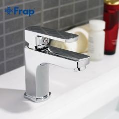 FRAP - Grifo de agua fría y caliente - Mezcladora cromada