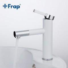 FRAP - Grifo de baño - 360 rotación - Mezclador de agua caliente y fría