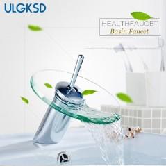 Grifería de baño - Mezclador de grifo de agua fría y caliente - giratoria 360