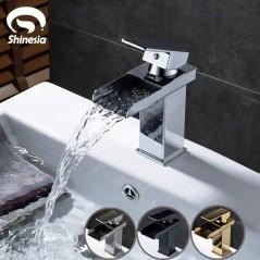 Grifería de baño - Mezclador de grifo de agua fría y caliente - Tipo Cascada