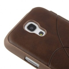 Estuche de  Cuero - Samsung SIV mini