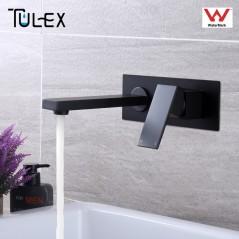 TULEX - Grifería de baño - Mezclador de grifo de agua fría y caliente