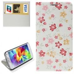 Estuche Flower Pattern - Samsung S5