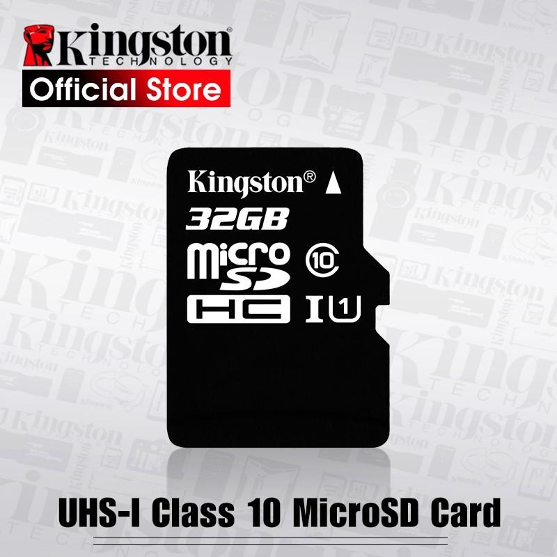 Kingston Clase 10 tarjeta Micro SD 32 GB memoria C10 Mini SD tarjeta SDHC SDXC TF para Smartphone