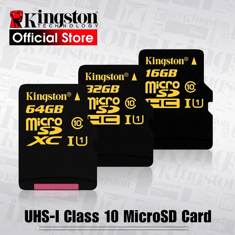 Kingston - Clase 10 - microSDHC (SDCA10/16 GB/32 GB/64 GB)