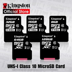 Kingston - Micro SD tarjeta de memoria Class10
