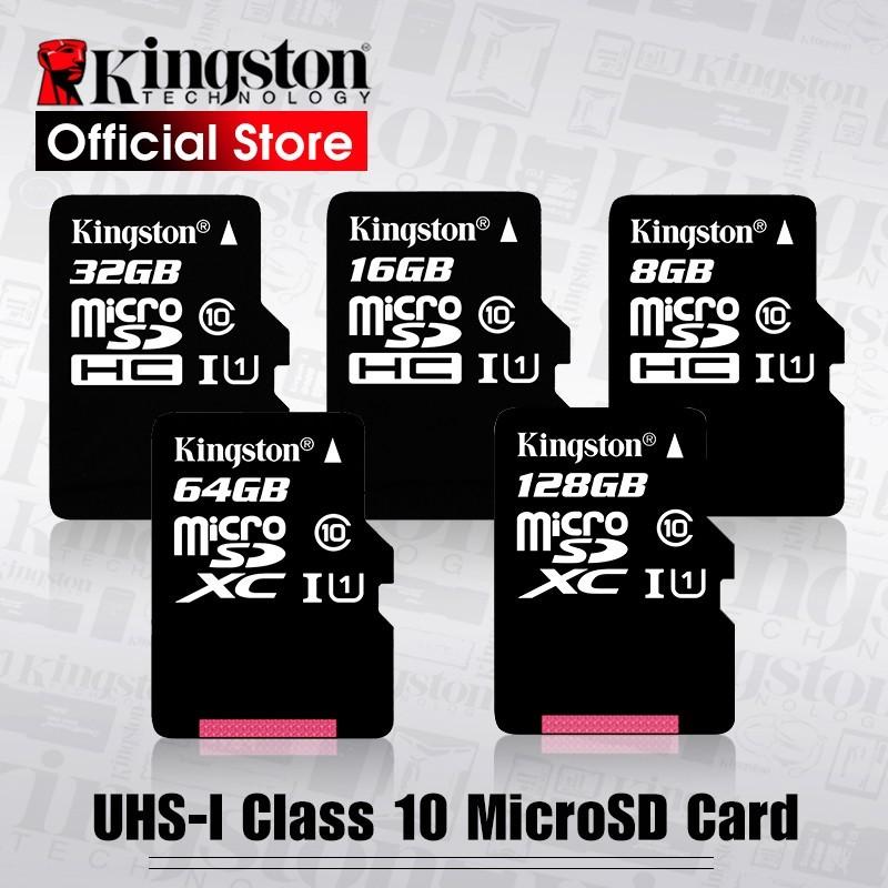 Kingston - Micro SD tarjeta de memoria Class10