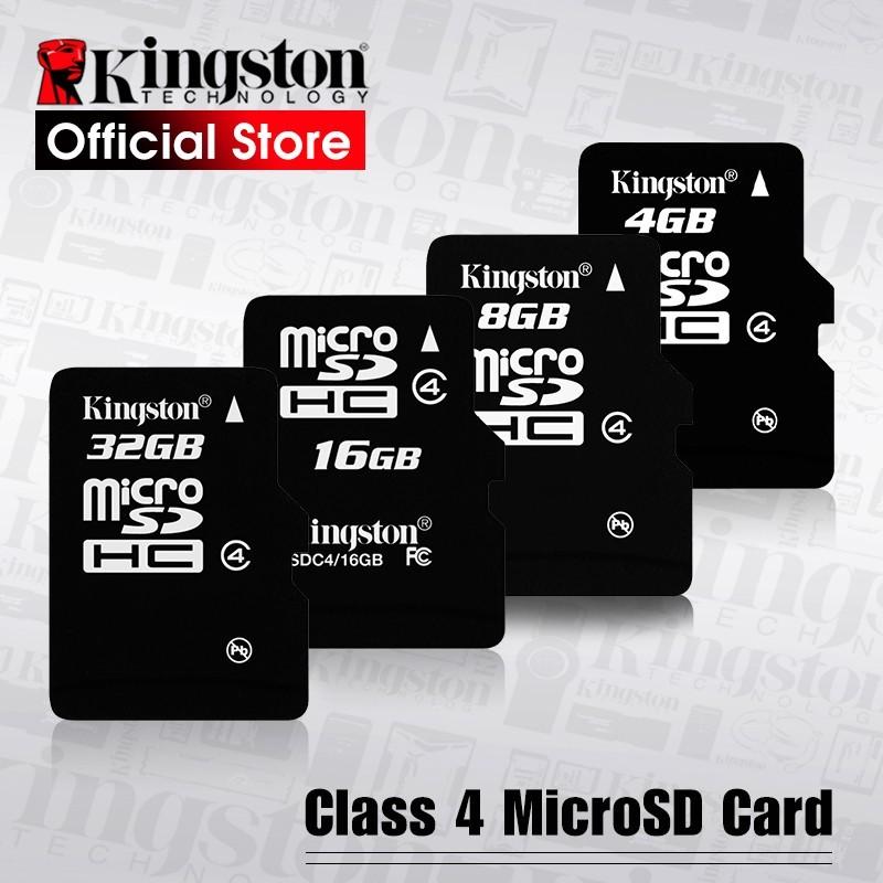 Kingston - tarjeta microSD Digital - microSDHC tarjeta (SDC4/16 GBET SDC4/ 32 GBET)