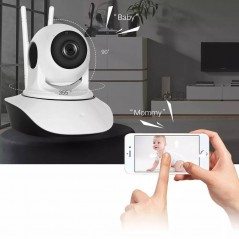 Smart Camara Seguridad New Version Ip Wifi Hd Vision Nocturn