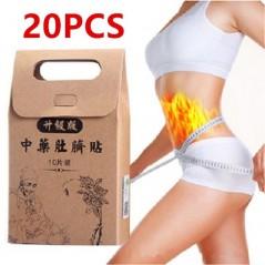20pcs Chinese Medicine - Parche para pérdida de peso