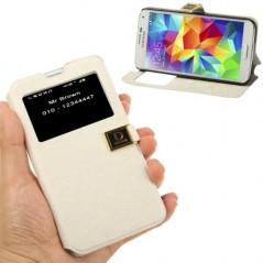 Estuche de Cuero & TPU - Samsung 5